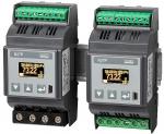 Miernik parametrów sieci 1-fazowej na szynę z graficznym wyświetlaczem OLED - N27P – NOWOŚĆ