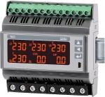 Miernik parametrów sieci 3-fazowej na szynę N43 - NOWOŚĆ